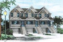 Home Plan Design - Craftsman Exterior - Front Elevation Plan #20-411