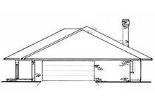 Home Plan Design - Right Side Elevation