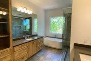 Craftsman Style House Plan - 4 Beds 3.5 Baths 4147 Sq/Ft Plan #437-115 Interior - Master Bathroom