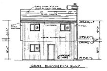 Country Exterior - Other Elevation Plan #3-214