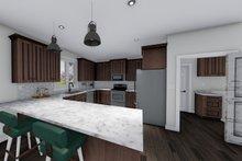 Ranch Interior - Kitchen Plan #1060-41