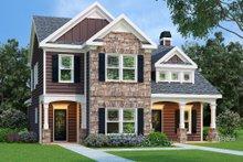 Dream House Plan - Craftsman Exterior - Front Elevation Plan #419-127