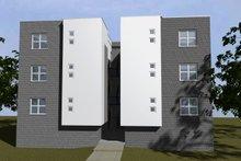 Modern Exterior - Rear Elevation Plan #535-12