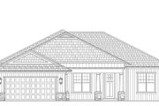 Craftsman Style House Plan - 3 Beds 2.5 Baths 2138 Sq/Ft Plan #938-101 Exterior - Front Elevation