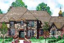 Architectural House Design - European Exterior - Front Elevation Plan #52-174
