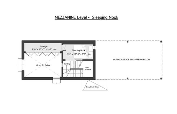 Mezzanine Level - Sleeping Nook