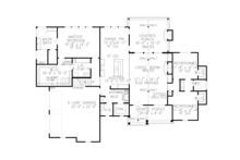 Farmhouse Floor Plan - Main Floor Plan Plan #54-389