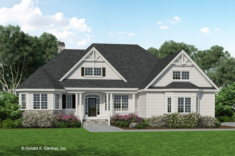 House Plan Design - Country Exterior - Front Elevation Plan #929-756