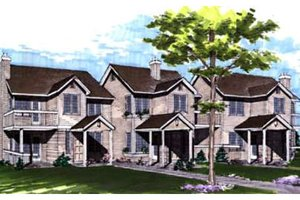 Traditional Exterior - Front Elevation Plan #320-331