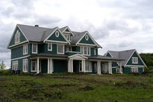 House Design - Colonial Exterior - Other Elevation Plan #48-151