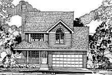 Traditional Exterior - Front Elevation Plan #50-217