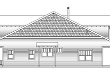 Home Plan - Bungalow Exterior - Other Elevation Plan #124-736