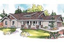 Craftsman Exterior - Front Elevation Plan #124-695