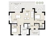 Modern Style House Plan - 2 Beds 1 Baths 1000 Sq/Ft Plan #924-10 Floor Plan - Main Floor Plan