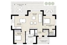 Modern Floor Plan - Main Floor Plan Plan #924-10