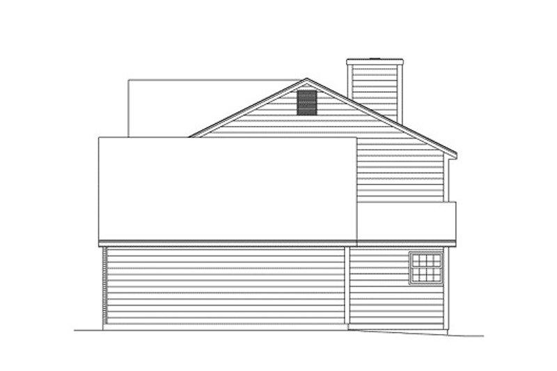 Victorian Exterior - Other Elevation Plan #57-101 - Houseplans.com