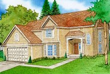 Traditional Exterior - Front Elevation Plan #405-149