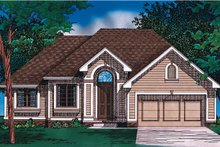 Home Plan - Traditional Exterior - Front Elevation Plan #20-147