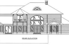 Dream House Plan - European Exterior - Rear Elevation Plan #117-466