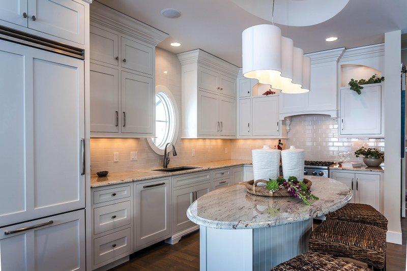Bungalow Interior - Kitchen Plan #928-9 - Houseplans.com