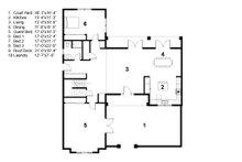 Traditional Floor Plan - Main Floor Plan Plan #497-41
