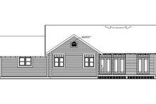 Craftsman Exterior - Rear Elevation Plan #126-142