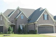 European Style House Plan - 4 Beds 3 Baths 3568 Sq/Ft Plan #81-13912 Exterior - Other Elevation