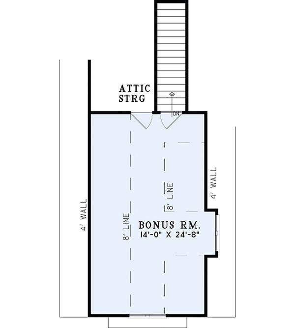 European Floor Plan - Other Floor Plan Plan #17-2537