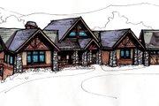 Craftsman Style House Plan - 4 Beds 4.5 Baths 4419 Sq/Ft Plan #921-10