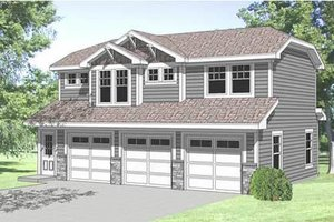 Traditional Exterior - Front Elevation Plan #116-130