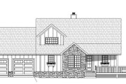 Country Style House Plan - 3 Beds 2.5 Baths 1854 Sq/Ft Plan #932-261 Exterior - Front Elevation