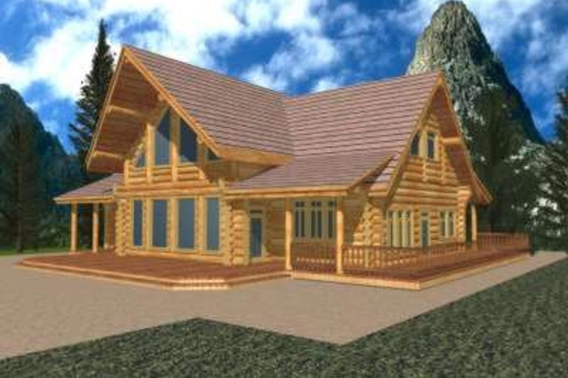 Dream House Plan - Traditional Exterior - Front Elevation Plan #117-314