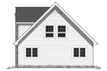 House Plan Design - Cabin Exterior - Rear Elevation Plan #18-4504