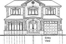 Mediterranean Exterior - Rear Elevation Plan #23-280