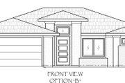 Adobe / Southwestern Style House Plan - 3 Beds 2 Baths 1443 Sq/Ft Plan #24-218