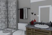 Ranch Style House Plan - 3 Beds 2 Baths 1635 Sq/Ft Plan #1060-42 Interior - Bathroom