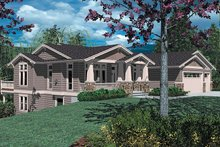 House Design - Craftsman Exterior - Front Elevation Plan #48-169