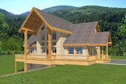 Bungalow Style House Plan - 3 Beds 3.5 Baths 2999 Sq/Ft Plan #117-525