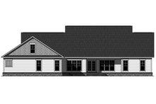 Craftsman Exterior - Rear Elevation Plan #21-396