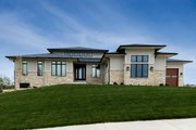 Craftsman Style House Plan - 2 Beds 3 Baths 2727 Sq/Ft Plan #70-1486