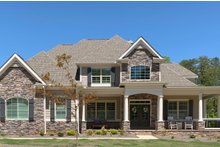 Dream House Plan - Traditional Exterior - Other Elevation Plan #437-56