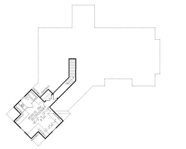 Home Plan - Craftsman Floor Plan - Upper Floor Plan #54-408
