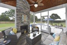 Home Plan Design - Craftsman Exterior - Outdoor Living Plan #929-1025