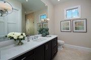 Mediterranean Style House Plan - 4 Beds 4.5 Baths 3682 Sq/Ft Plan #930-481 Interior - Bathroom