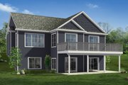 Craftsman Style House Plan - 3 Beds 3 Baths 2776 Sq/Ft Plan #1057-21
