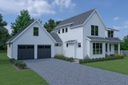 Farmhouse Style House Plan - 3 Beds 2.5 Baths 2090 Sq/Ft Plan #1070-69 Exterior - Other Elevation