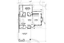 Modern Floor Plan - Main Floor Plan Plan #472-7