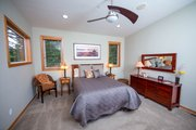 Contemporary Style House Plan - 3 Beds 3 Baths 2287 Sq/Ft Plan #1070-7 Interior - Master Bedroom
