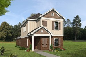 Dream House Plan - Traditional Exterior - Front Elevation Plan #932-399