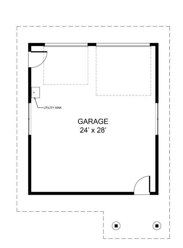 Modern Floor Plan - Other Floor Plan Plan #890-6